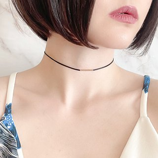G Simple Choker with black code SV 203 G