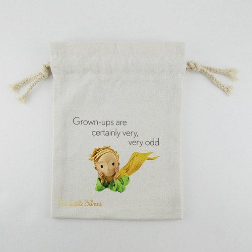 Little Prince Movie Version Authorization - Pouch (Large): [] adults really strange