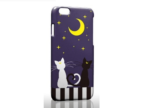 Cute black and white cat iPhone X 8 7 6s Plus 5s Samsung note S7 S8 S9 plus HTC LG Sony Mobile Shell Mobile Phone Cases