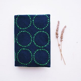 Japanese-style dotted round handmade book / book cover (notebook / diary / hand account)