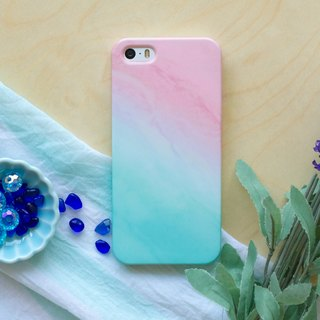 Tiffany Blue fairy Clouds. Matte / Silicon Case (iPhone, HTC, Samsung, Sony)