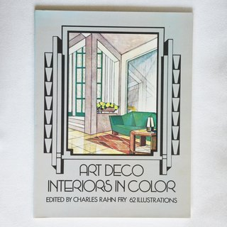 Early German Interior Design Books ARTDECO INTERIORS IN COLOR