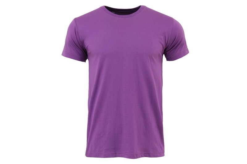 Tools Super textured cotton Tee Purple :: Men's and women's full size:: Soft:: Breathable:: Comfortable