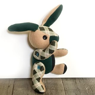 POPO│ Alice rabbit │ hand made. Rural grid style
