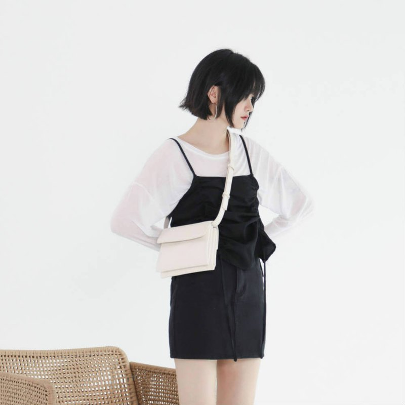 White black and white lizard embossed soft leather organ small square bag 2 with minimalist PU leather purse shoulder bag