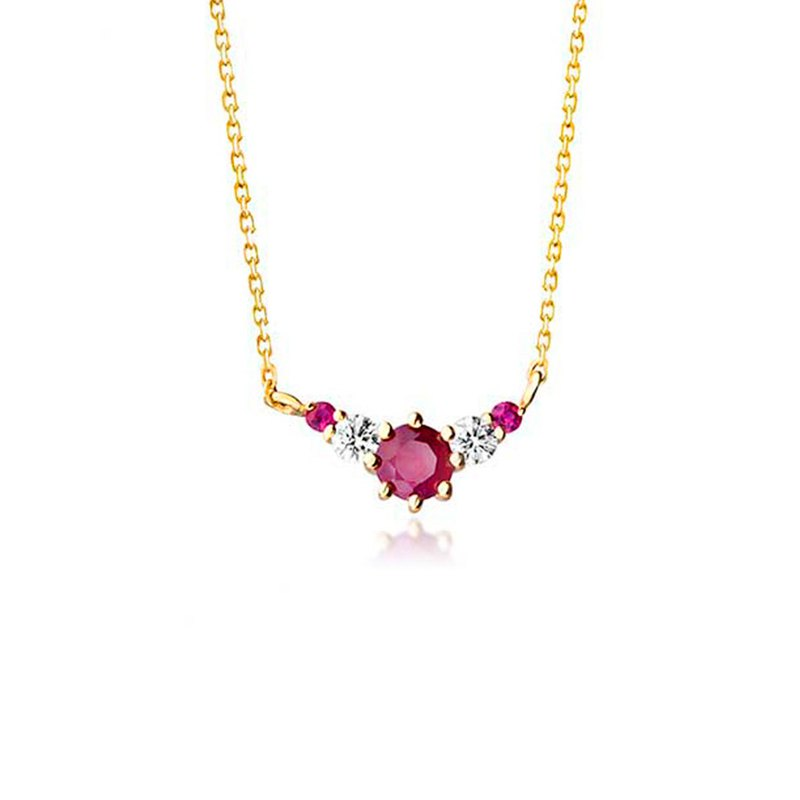 [brilliantia] 10K Royal Series - Necklace - (PT0116)