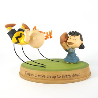 Snoopy Hand Sculpture - Ups and Downs [Hallmark-Peanuts Handicrafts]