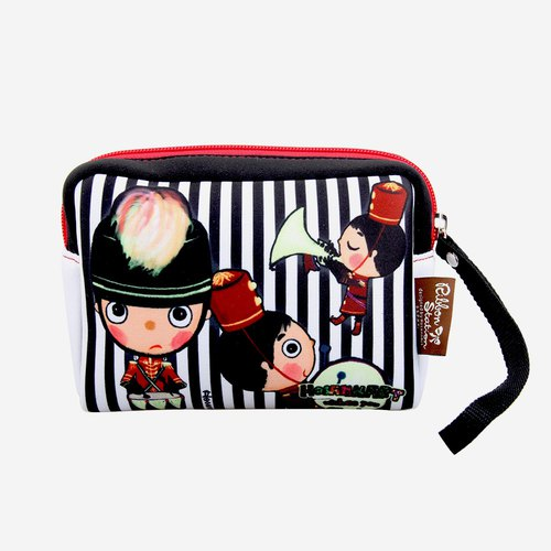 Cute little Neoprene Multi-purpose pouch cosmetic bag