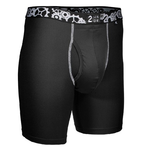 2UNDR GEAR SHIFT Sport Four Point Underwear 【Black】 (9 ""