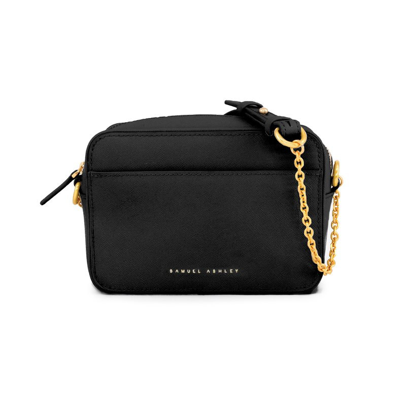 Faith Crossbody Camera Bag - Black