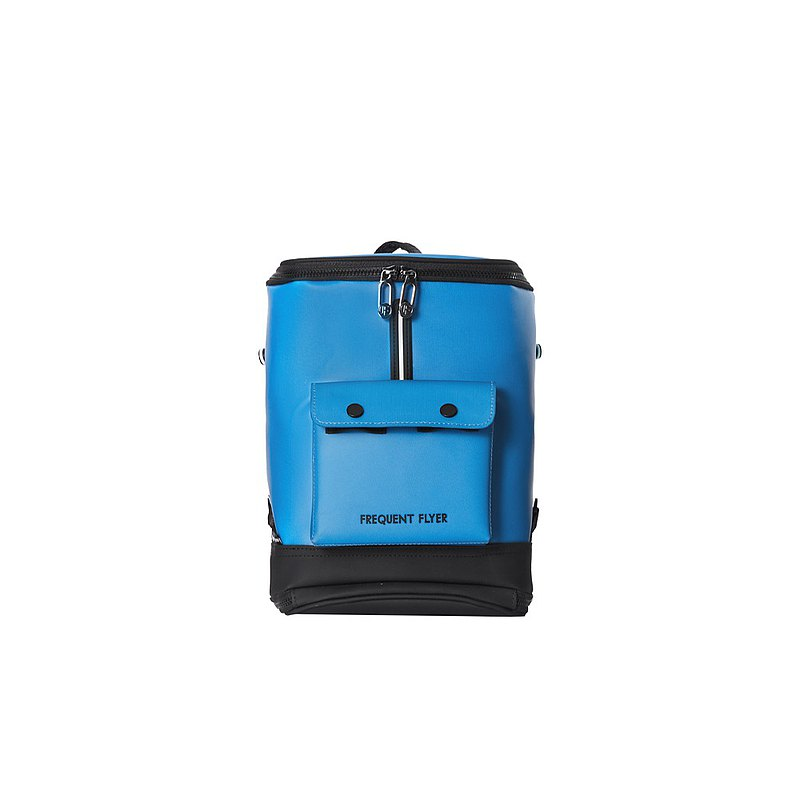 FREQUENT FLYER Captain Backpack (MINI)-Smoky Blue Black