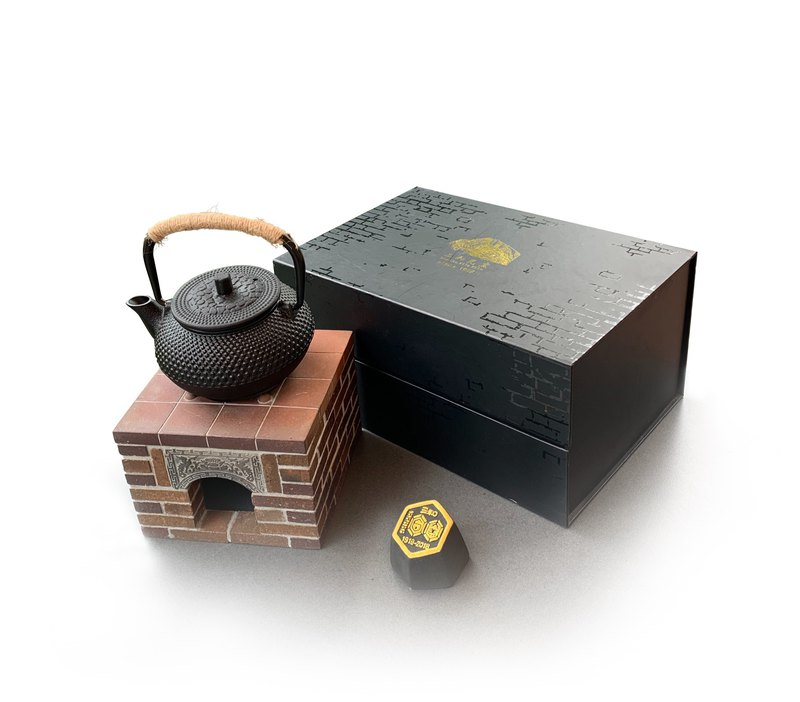 Sanwa tile kiln - a hundred years special limited edition small stove