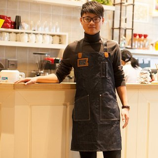 JimmyRacing denim hand apron work apron hand dress 2238