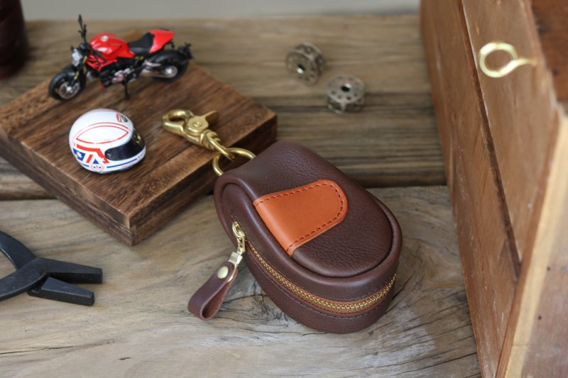 Structural key bag / gear limited - coffee X brown
