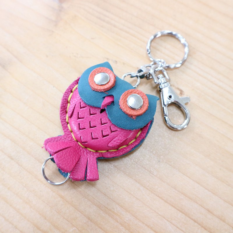 Play Pi master course:: Owl retractable key ring experience activity appointment class leather DIY