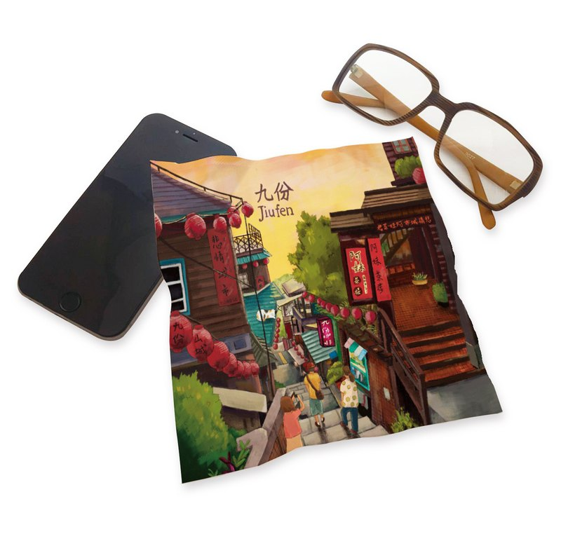 Printed Universal Cloth - Jiufen Sunset ll Wipe