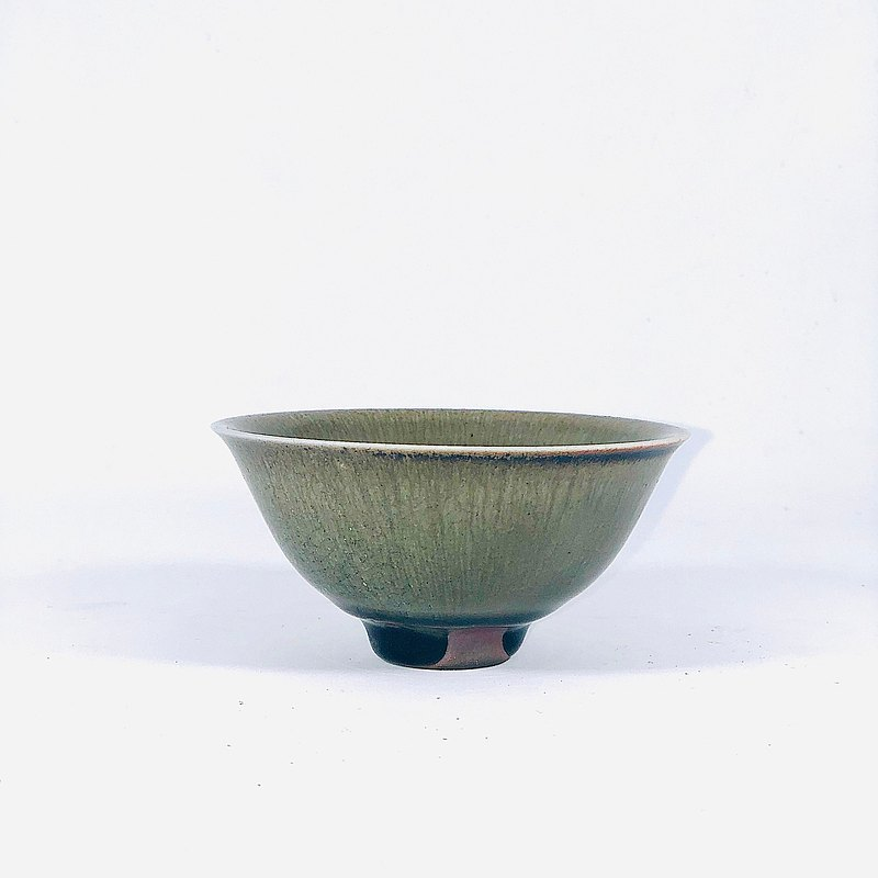 Handmade firewood Longquan celadon small tea bowl LONG009
