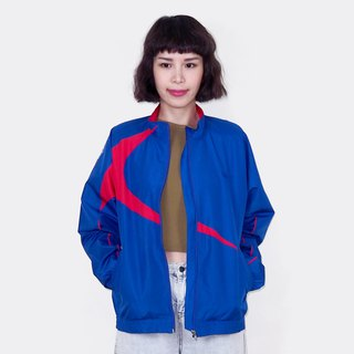 Blue red retro windproof vintage jacket BM3013