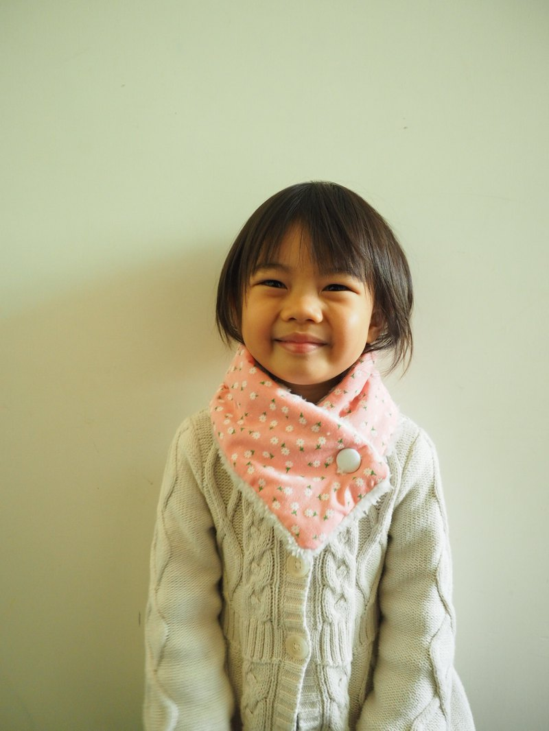 Handmade sewing neck warmer scarf for kid and adult