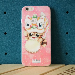 Yourself Design - Lion Dance Kitty Case Phone Case K011