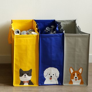 3 into the waterproof recycling classification bag -02 dog, E2D17149