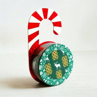 [Hoppy] Christmas paper tape X'mas-G Deer / GTIN: 4713077971819