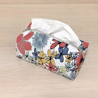 (Dual Purpose) Season Garden_tissue cover/ zipper bag