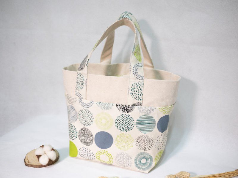 Sling Hand Bag for Lunch Box - Green