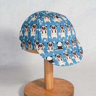 Handmade Cycling cap | Handmade in Hong Kong Pug
