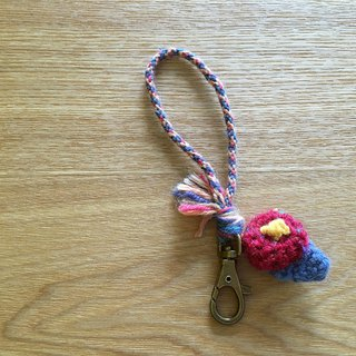 National wind key ring red flower
