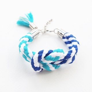 Big sailor knot bracelet with tassel
