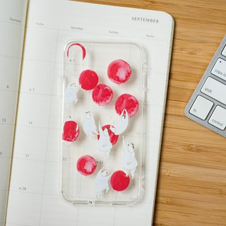"iPhone case ""some red balloons"" - iPhone X - iPhone all models"