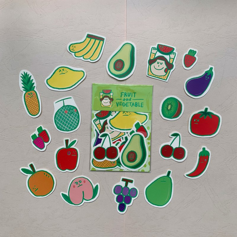 Vegetables and Fruits / Stickers