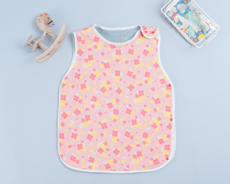 Three-layer cotton anti-kick quilt - foundation flower child child anti-kick vest hand made Mi Yue
