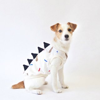 "Cool-feel Materials Dog Shirt / Dino dog ""Peanuts"""