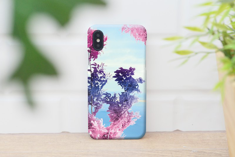44-3 abstract leafs iphone caseสำหรับ iphone6,7,8 plus iphone xs, iphone xs max