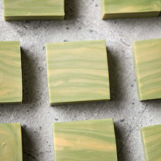Lemon and herb artisan soap