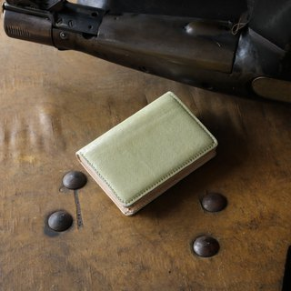 Made in Japan Cowhide name Single canned name Particle size Kinzawa golden made in JAPAN handmade leather card case