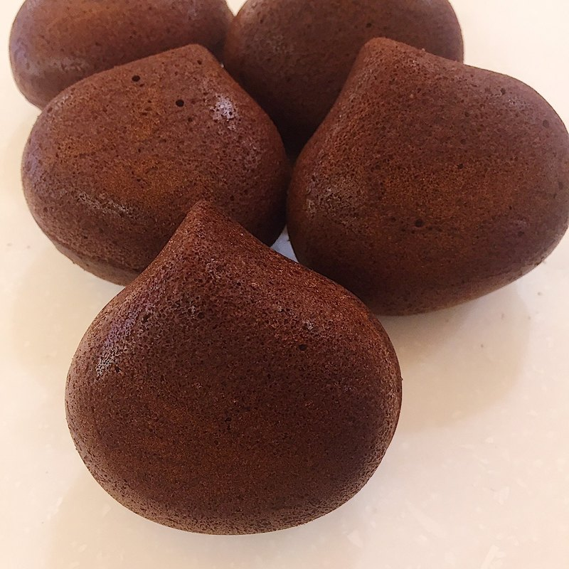 [Mizu Patisserie] Hazelnut Chestnut Shaped Cake