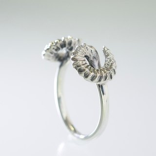 "Japan Quality | inGod NUDE Ring ""Morph The SHEEP"" Silver925"