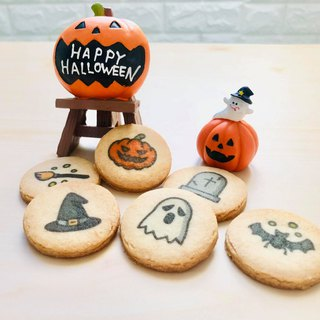 [Halloween Special] Cute Halloween Ghost Biscuits (6 pieces)
