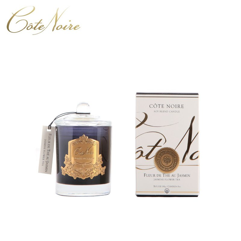 French Côte Noire Jasmine Jasmine Tea Scented Candle 185g