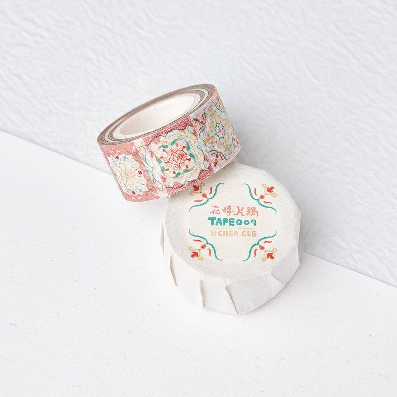 CHERCLE | 紙膠帶 | 和紙 | 花磚片隅 | 香港設計