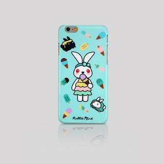 (Rabbit Mint) Mint Rabbit Phone Case - Bu Mali ice cream series Ice cream Merry Boo - iPhone 6 (M0022)