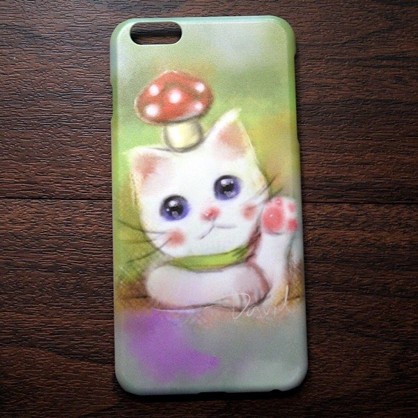 Watercolor cat s016 expect good weather David Videos Cat iPhone (i5.i6s, i6splus.I7.I7plus) / Android (Samsung, Samsung, HTC, Sony) designer mobile phone shell / protective cover / kitty cat phone shell