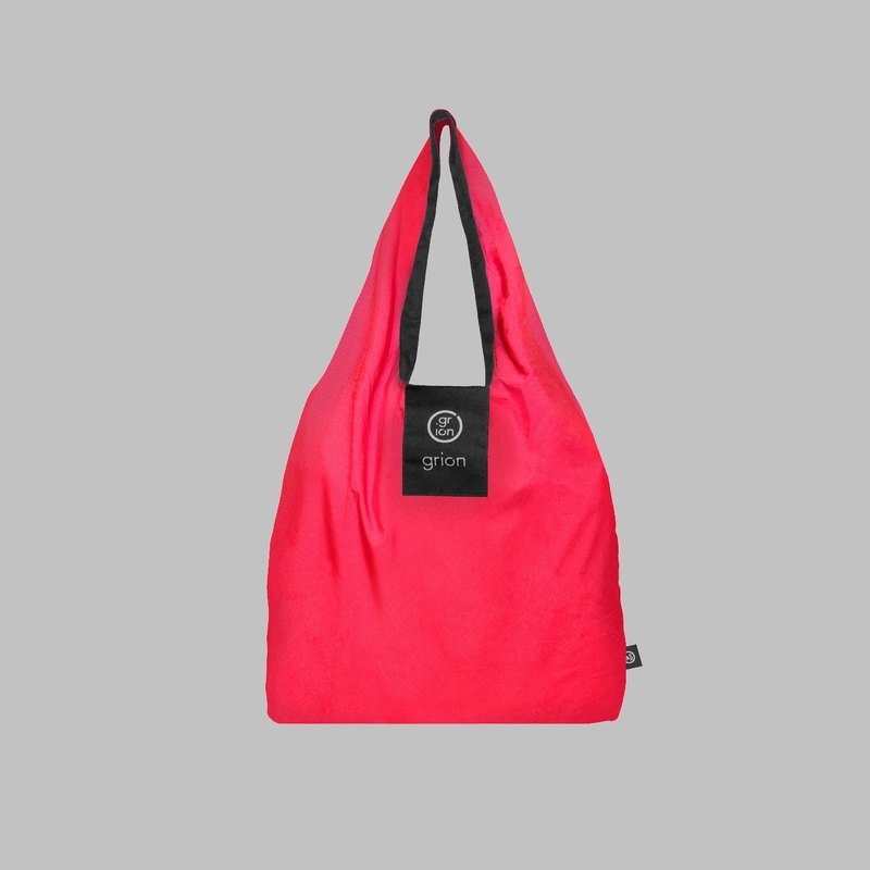 grion waterproof bag - Shoulder dorsal subsection (S) raspberry color