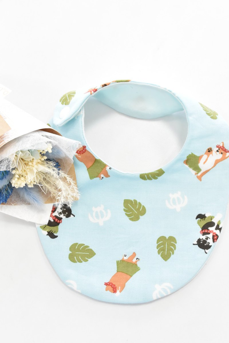 Hula dance bean/bib