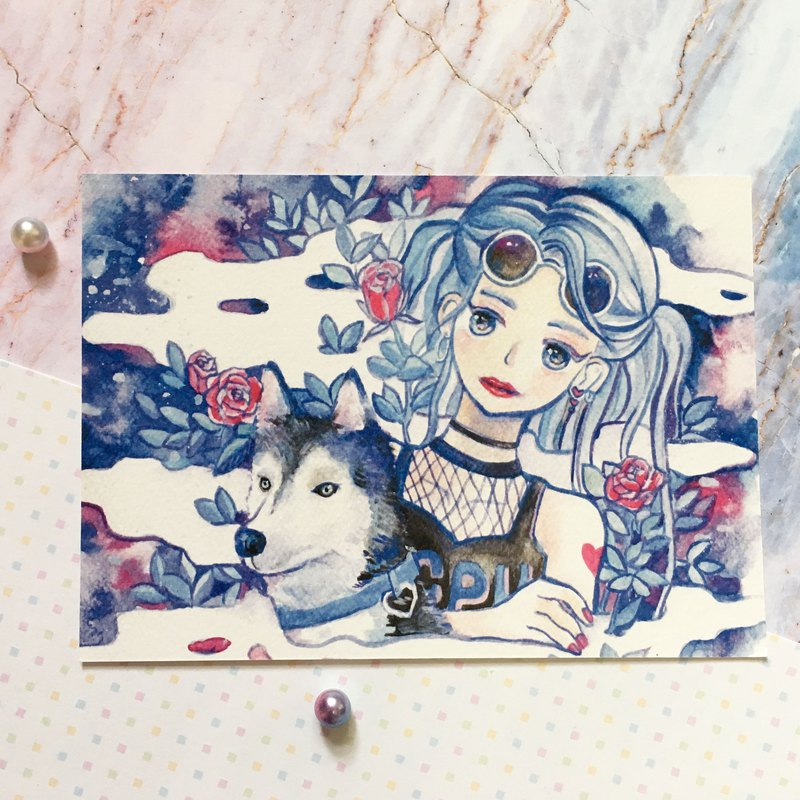 Maiden & Shiqi postcards