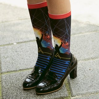【LIFEBEAT】In Concert Athletic Crew Socks for men&women