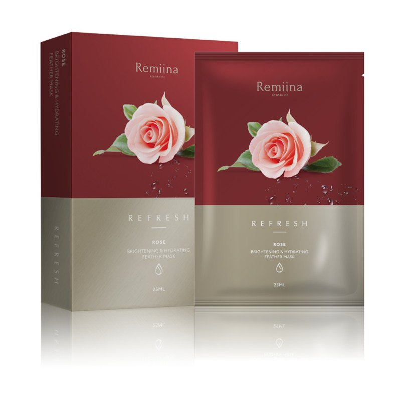 ROSE Brightening & Hydrating Invisible Facial Mask